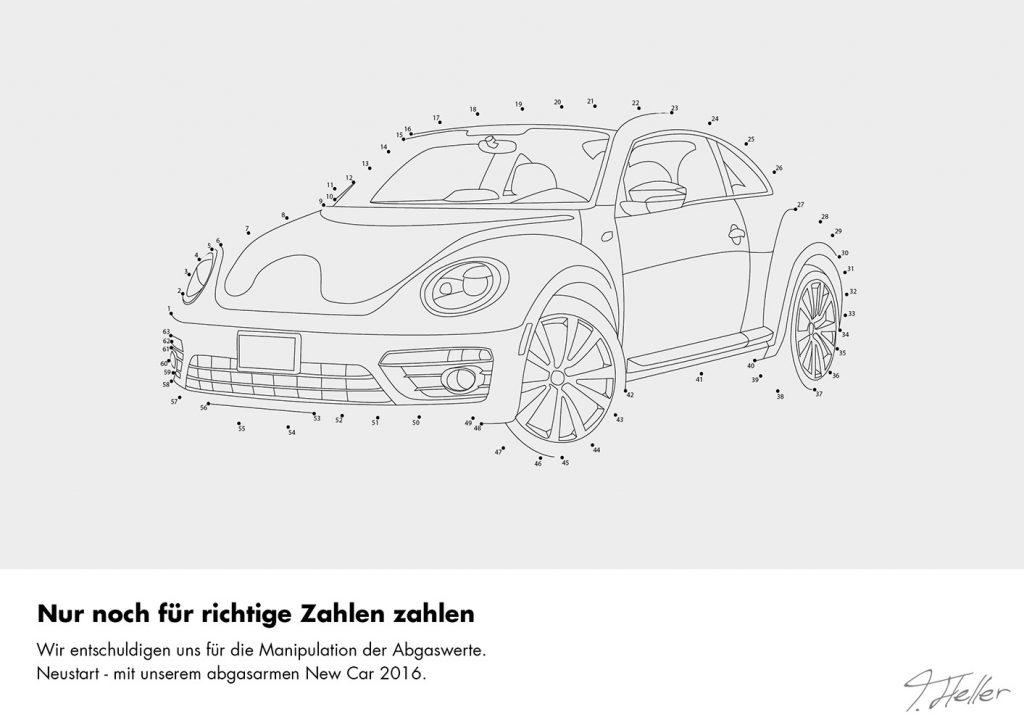 auto malen nach zahlen räder marke abgas skandal deutschland kinderbuch punkte verbinden zeichnen