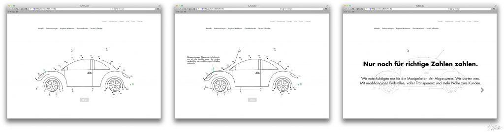 auto motor auspuff website interaktiv klicken malen nach zahlen räder marke abgas skandal deutschland kinderbuch punkte verbinden zeichnen