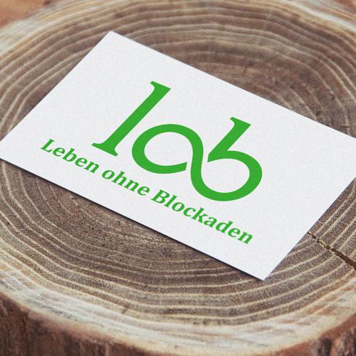 lob leben ohne blockaden hypnose coaching olaf bettinger ob hildesheim grün grasgrün neuanfang logoentwicklung logo wort bild marke unendlichkeit unendlichkeitszeichen ci cd coporate identity design hoffnung grafik advertising